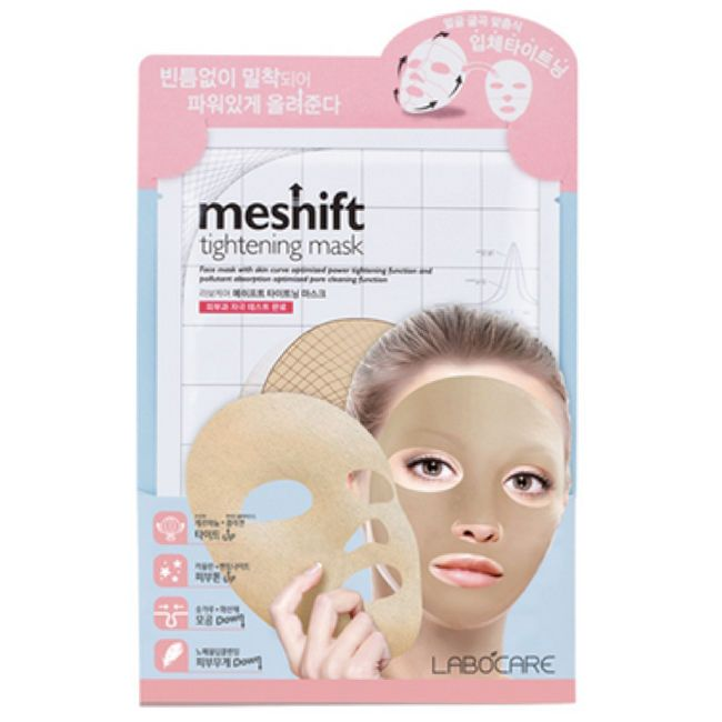 Labocare Meshift Tightening Masks Packs 20ml 10 Sheets Facial Skin Cosmetics NIB #Labocare