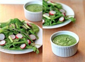 Green Goddess Salad Dressing - In Sonnet's Kitchen