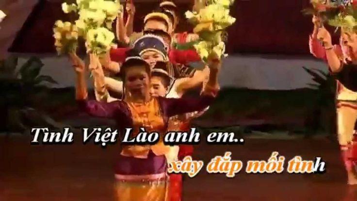 Tình Việt Lào  - Karaoke