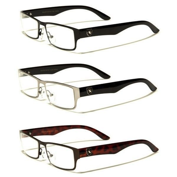 Fashion Designer Clear Lens Rx Sunglasses Women Men Square Optical Eye-Glasses