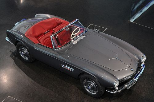 1956 BMW 507 and there is no better color combo... SEXY!