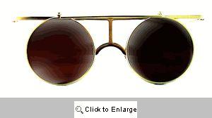 Circle T Flip-Up Sunglasses - 267 Gold