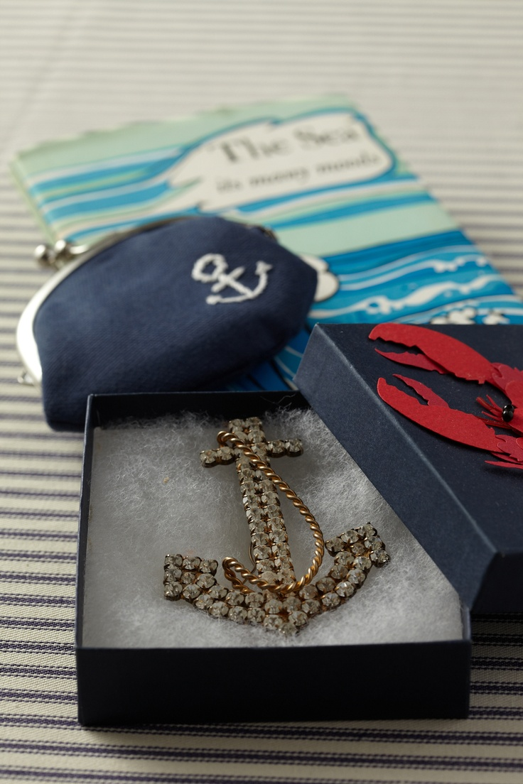 Anchor-Themed Gifts. Make the mom-to-be captain for a day with gifts inspired by the sea.