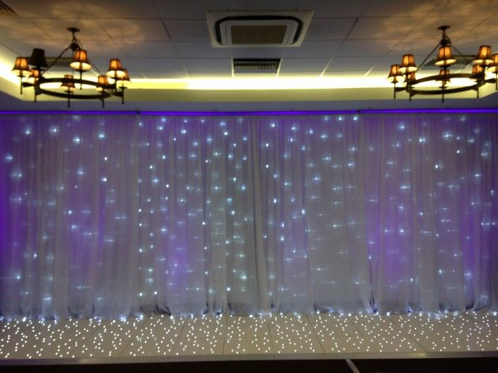 Devere New Place Wickham Arden Suite – Starlit Backdrop & Twinkle floor for Top Table