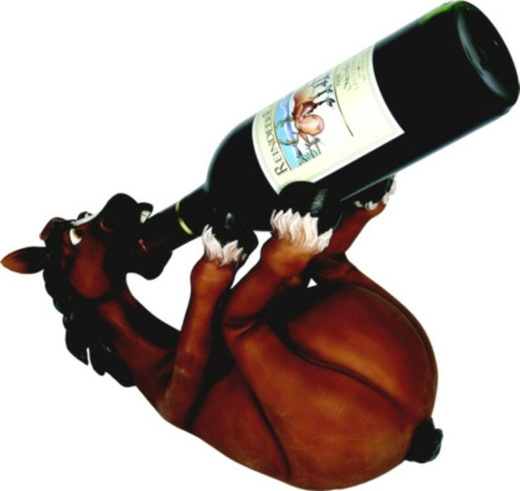21 best gifts for the horse lover images on pinterest horse whimsical horse wine bottle holder equestrian equestrian gift horse lovers gift negle Images