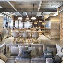 18 imagens para você se apaixonar pelo estilo industrial de decoração