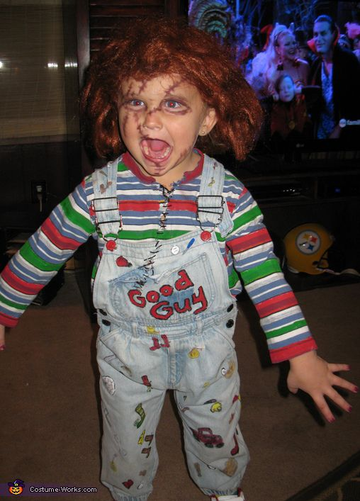 Chucky - My sister had this doll when I was younger and used to scare the crap outta me with it. Well Misti i'm older now let the games begin. May the odds be in your favor ha