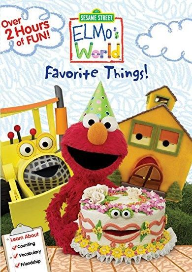 Bill Irwin & Michael Jeter & Ken Diego & Victor DiNapoli-Sesame Street: Elmo's World: Favorite Things