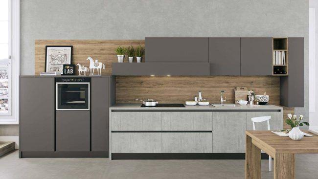 Cucine lineari moderne Padova anche in offerta. Trova la tua cucina moderna lineare da Arredamenti Meneghello.