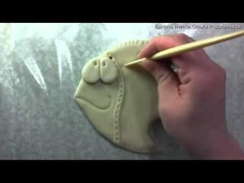 фактурная рыбка - YouTube