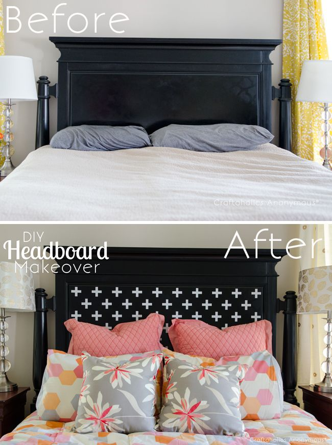 51 Ways To Diy The Bedroom Of Your Kids Dreams: Best 25+ Headboard Makeover Ideas On Pinterest