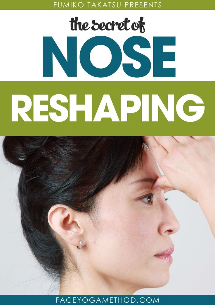 "Click here to get a FREE copy of the eBook ""The Secret of Nose Reshaping""  http://faceyogamethod.com/free?utm_campaign=free+page&utm_source=pinterest.com&utm_medium=social"