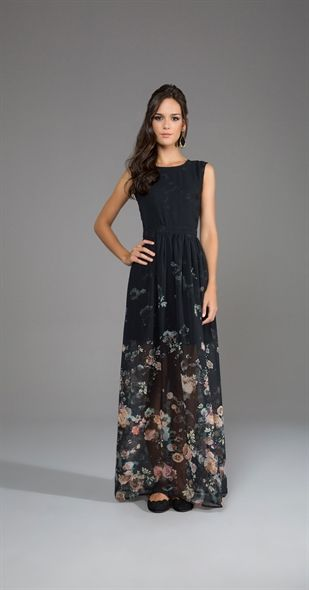 Só na Antix Store você encontra Vestido Longo Florescer com exclusividade na internet