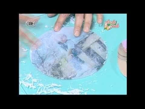Manualidades Van Gogh - Plato con foto (1ª parte) - YouTube
