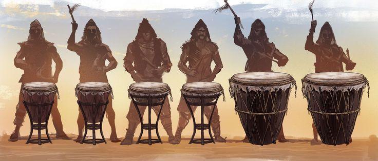 Drum concept for Marco Polo Season 2, Props. Prop master: Paul Stewart  Portfolio: https://buff.ly/2iWmPIz?utm_content=bufferc1deb&utm_medium=social&utm_source=pinterest.com&utm_campaign=buffer