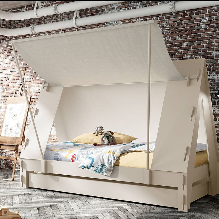 childrens tent bed by idyll home | notonthehighstreet.com