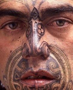 Maori moko  I must say, ha ah aht!