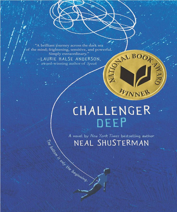 #ChallengerDeep is a #Book by #NealShusterman. A #captivating and #powerful #novel that #lingers long #beyond the last #page, #ChallengerDeep is a #heartfelt tour de force by one of today's most #admired #writers for #teens. This #book won #NationalBook #Award for #YoungPeople's #Literature, #GoldenKite #Award for #Fiction.