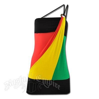 Rasta dress!Dresses Rasta, Reggae Dresses, Minis Rasta, Rasta Reggae, Reggae Minis, Straps Dresses, One Shoulder, Rasta Dresses, Shoulder Straps