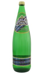 Not too fizzy, Highland Spring