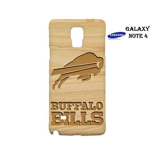 Buffalo Bills Style Wood 1 Case for Samsung Galaxy Note 4