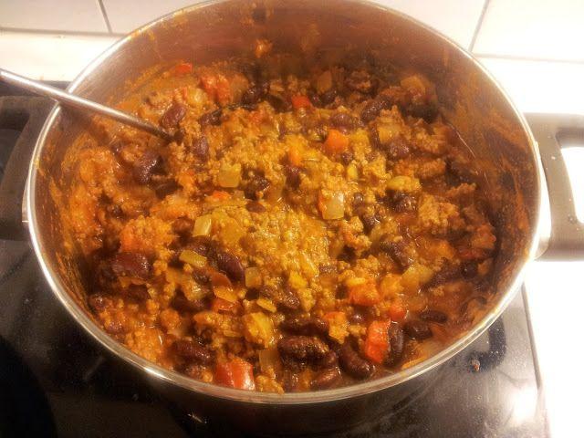 Gunns momsemat: Chili con carne