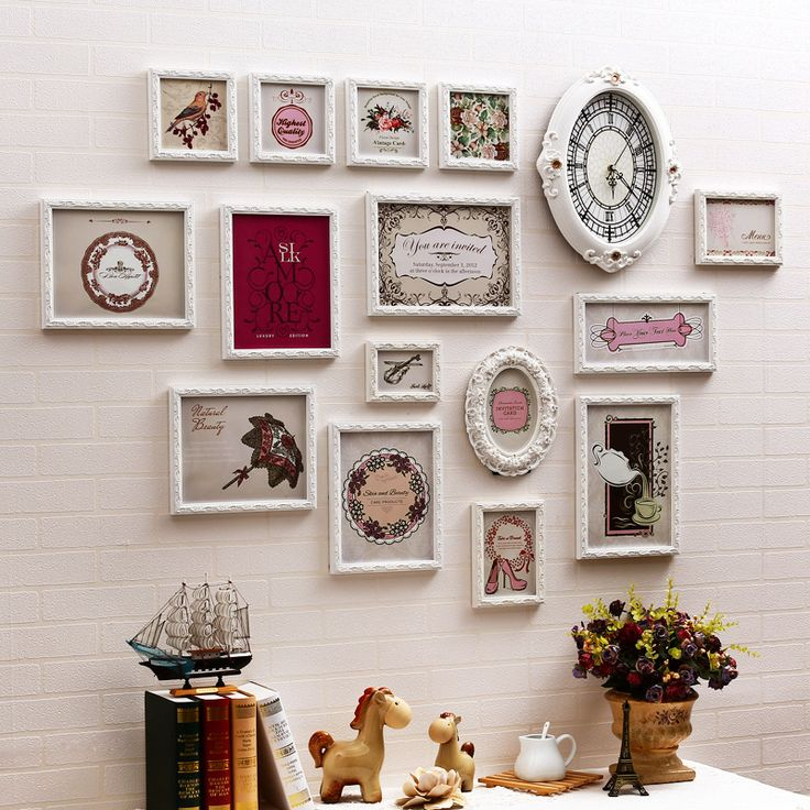 Find More Frame Information about 15pcs Wooden Photo Frames Clock Baroque Decorative Romantic Picture Sets For Wedding Decoration Porta Retrato Sale Multi White,High Quality frame panel,China frame walking Suppliers, Cheap frame toy photo frames from Handicraftsman on Aliexpress.com