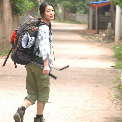Hiking outfit ala Yama Girls. My hike later gonna be as casual as I can. Hopefully...