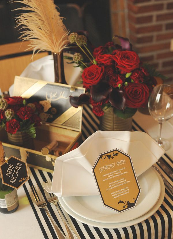 Old Hollywood Speakeasy vibe could be great for all types of events.  Add a little decadence with champagne, chocolate, cigar bar or more and you've got yourself a great party!  Click the pic for details and downloads.