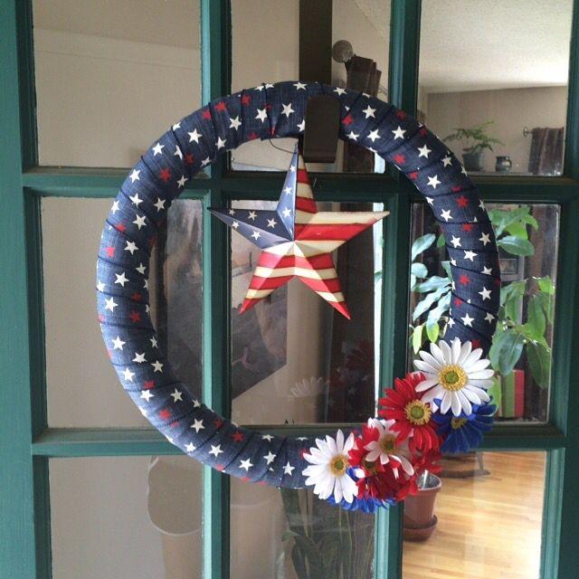 4th july wreaths make