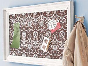 diy magnet/message board