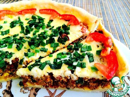 Мексиканский мясной пирог - кулинарный рецепт