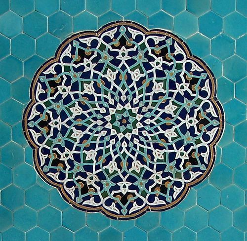 Arabesc, Mesquita del Divendres, Yazd by Sebastià Giralt, via Flickr