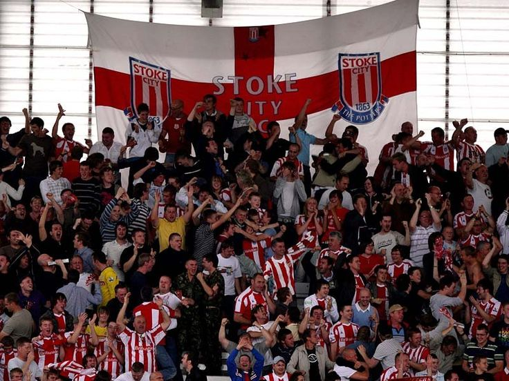 @Stoke the potters fans #9ine