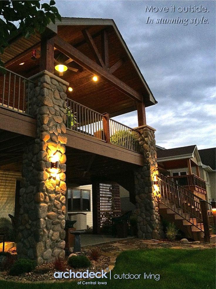 Best 25 Stone Columns Ideas On Pinterest Front Porch Posts Diy Exterior Column Wraps And