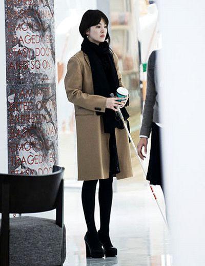 beige,coat,actor,송혜교,lady