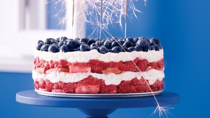Red, White, and Blue Berry Trifle | Dessert!!!!! | Pinterest