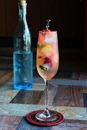 簡単 夏のおもてなしカクテル Cocktail ラム×ヴェルモット×スイカ×ソーダ|レシピブログ
