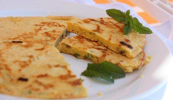 Frittata vegana di ceci senza uova | chickpea omelette without eggs, recipe