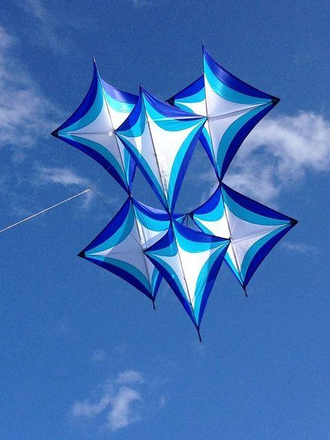 """Beamguard Kite """"Not a Peter Lynn Kite"""" - Designed by John Freeman #Kites"""