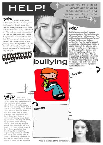 bullying is a problem I was commissioned to make this animation to raise the issue of bullying within schools.