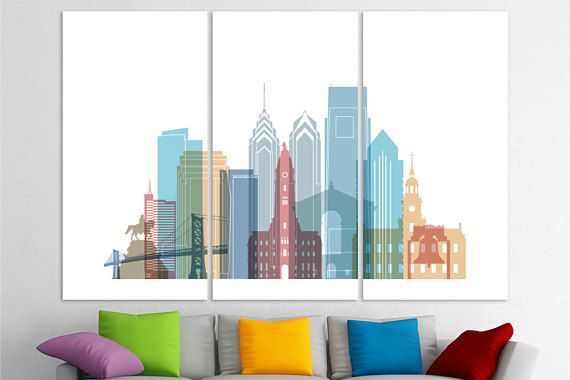 Philadelphia Wall Art Philadelphia Canvas Philadelphia Decor Philadelphia Art Philadelphia Poster P Philadelphia Wall Art Philadelphia Artwork Philadelphia Art