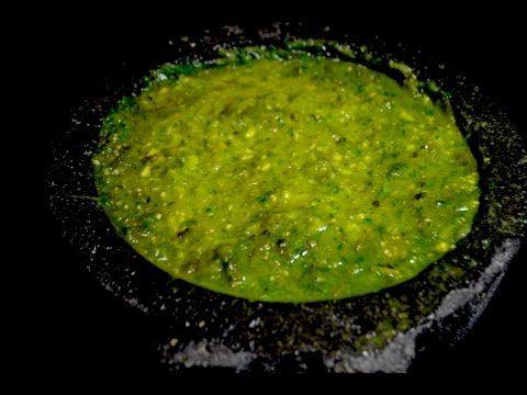 la mejor salsa verde que vas a comer en tu vida - YouTube