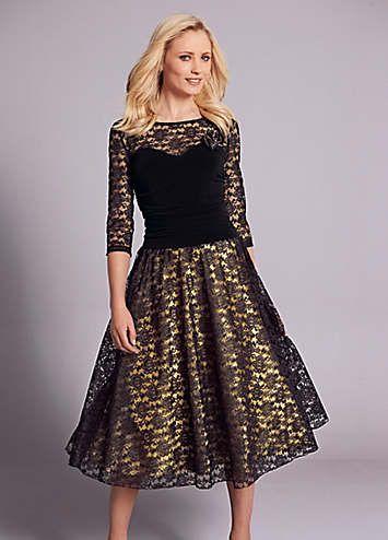 Prom Style Lace Dress £89.00