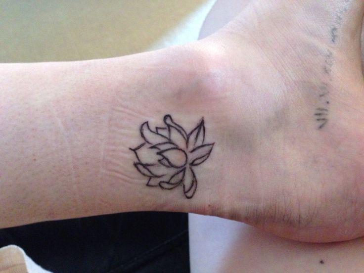 My new tattoo #lotusflower
