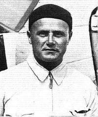 Franciszek Żwirko - sport and military aviator. Along with Stanisław Wigura, he won the international air contest Challenge 1932.