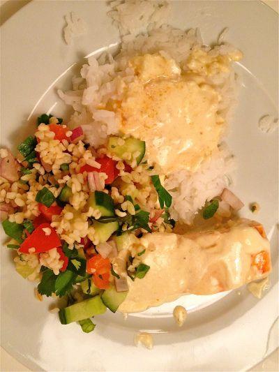 Simple fish for dinner - Fiskemiddag...