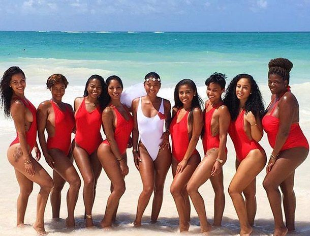Model Eniko Parrish is preparing to walk down the aisle with comedian and actor Kevin Hart in style with her girlfriends in the Dominican Republic, and her bachelorette party photos are everything. | essence.com