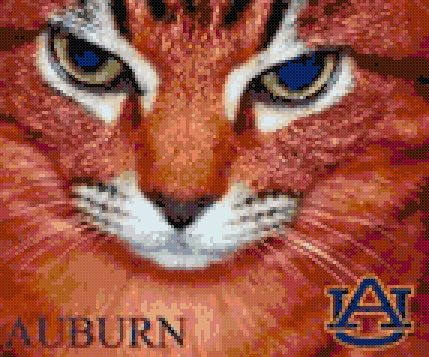 11 best auburn images on pinterest cross stitches crossstitch and auburn tigers college football cross stitch pattern click here or copy and paste to see fandeluxe Gallery