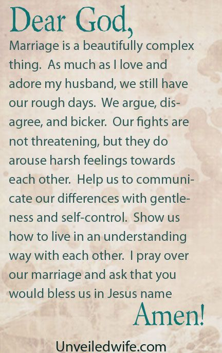 Fighting In Marriage Without Being Mean by @unveiledwife